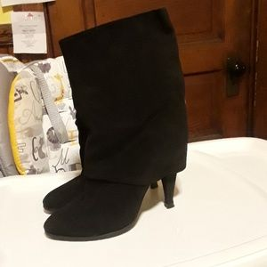 Sigerson Morrison Suede Booties Size 5